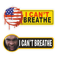 2020 American Black Lives Matter I Can T Breathe Car Sticker Funny Vinyl Decal Auto Car Laptop Wall Stickers Unisex Styling Wall Stickers Aliexpress