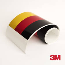 3m Germany Flag Racing Stripe For Bmw M3 Porsche Vw Mini Audi Car Deca Us Rallystripes