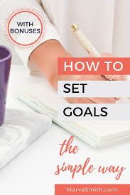 Personal Goal Setting Made Simple in 2020 (With images) | Personal ...