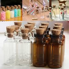 5pcs mini glass glass bottles