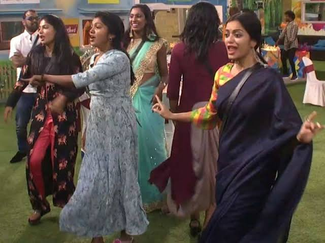Image result for bigg boss 2 freeze task tamil
