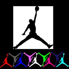 12 Mini Lot Michael Jordan Air Jumpman Basketball Logo Vinyl Decal Sticker Party Home Amp Garden Home Decor Decal Vinyl Decals Vinyl Decal Stickers Vinyl