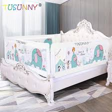 Tusunny Baby Bed Fence Home Kids Playpen Safety Gate Products Child Care Barrier For Beds Crib