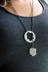 morgan dollar escaped necklace