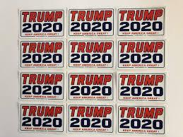Amazon Com Trump 2020 Keep America Great Vinyl Stickers Decals 75 Piece Bulk Pack Home Kitchen