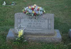 "Ivan Wilson ""Squeaky"" Bowman (1931-1988) - Find A Grave Memorial"