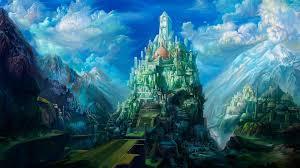 fantasy castles 1920x1080 wallpaper