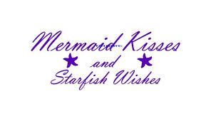Mermaid Kisses And Starfish Wishes Wall Decal Kids Room Decals Etsy