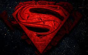 تحميل خلفيات سوبرمان شعار 3d 4k الأبطال الخارقين سوبرمان الفن