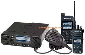 walkie talkie circuit using fm radio