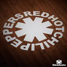 Sticker Red Hot Chili Peppers Muraldecal Com
