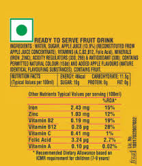 minute maid nutriforce apple coca
