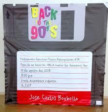 Invitacion Fiesta De Cumpleanos Back To The 90s En 2019