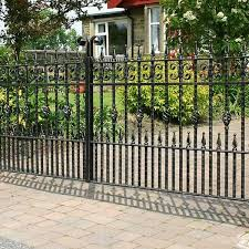 Wholesale Decorative Wrought Iron Fence Panels And Gates Ideas Home Depot For Sale Iok 218 You Fine Sculpture