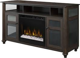 electric fireplace with acrylic ice xhd