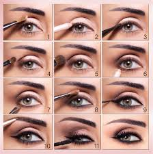 how to put on your eye makeup