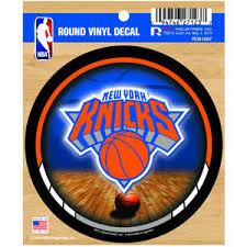 New York Knicks Round Sticker At Sticker Shoppe