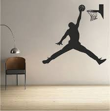 Basketball Jordan Wall Decal Trendy Wall Designs