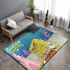 Amazon Com Kitchen Rugs Spongebob Door Rugs Spongebob Squarepants Star Tv Movie For Living Room Kids Room 5 X7 Kitchen Dining