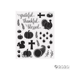 Thankful Blessed Mason Jar Decals Oriental Trading