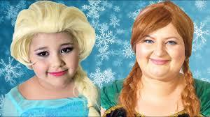 disney frozen elsa and anna makeup