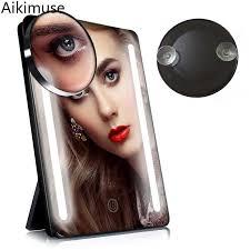 pocket vanity mirror 10x compact