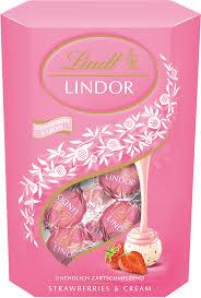 lindt lindor truffles strawberry