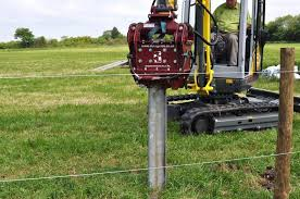 Autoguide Post Master Vibrating Post Driver Pounder Fencefast Ltd