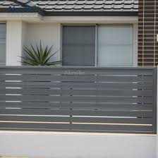 China Low Price Adjustable Louvered Fencing For Garden China Factory Wholesale Slat Fence Sliding Louver Fence