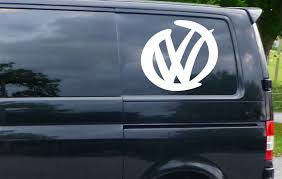 2x Extra Large Vw Logo Design Surf Car Window Vw Uk Vinyl Decal Sticker T4 T5 Drake Top Avicii Jayz Onther Vinyl Decal Stickers Logo Design Vinyl Decals