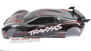 Xo 1 Body Shell Black Red New Painted Cover Decal Traxxas 6407 Jennys Rc Llc