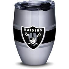 Tervis Oakland Raiders Nfl 12 Fl Oz Stainless Steel Tumbler In The Water Bottles Mugs Department At Lowes Com