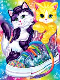 Kitten Sneakers Poster Wall Art By Lisa Frank Walmart Com Walmart Com