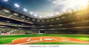 """Imágenes, fotos de stock y vectores sobre """"baseball Stadium ..."""
