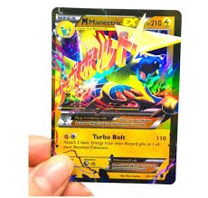 100 PCS Pokemon TCG Style Card HOLO EX FULL ART : 20 GX + 20 Mega +