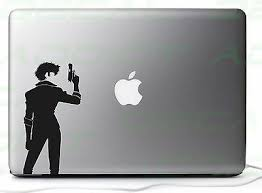 Cowboy Bebop Spike Vinyl Decal Stickers For Car Laptop Consoles Mirror
