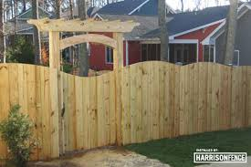 Wood Fences Harrison Fence Is A Premier Raleigh Fence Company Specializing In Wood Aluminum Vinyl And Chain Link Fences