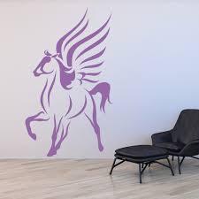 Pegasus Fairy Tale Wall Decal Sticker Ws 15544 Ebay