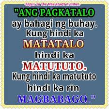 inspirational quotes about life tagalog quotesgram