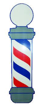 Vincent Vt160 37 Barber Pole Decal Static Cling Reusable Glossy Lisko Beauty Barber Supply