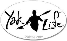 Amazon Com American Vinyl Licensed Oval White Yak Life Sticker Kayak Kayaking Decal Automotive