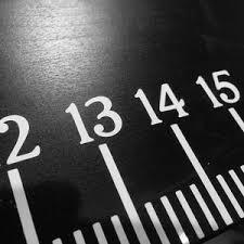 Desktop Ruler Measuring Cut File Digital Download Vinyl Decal Etsy