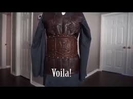 how to fake leather armor for cosplay