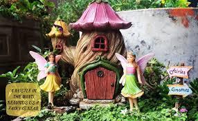 fairy garden house accessories kit