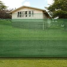 Convenienceboutique Cb17359 Fence Windscreen Privacy Mesh Screen Net Green 4 9 X 32 8