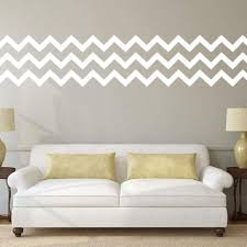 Chevron Wall Pattern Decal For The Home Db333 Designedbeginnings