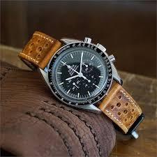 20mm malt le mans racing watch strap
