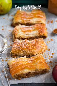 easy apple strudel annie s noms