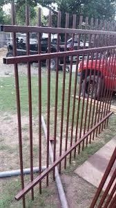 Prefabricated Wrought Iron Fence Panels Houston Texas