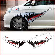 59 Full Size Shark Mouth Teeth Flying Tiger Die Cut Vinyl Decal Sticker Car B Ebay